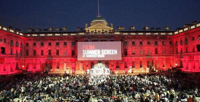 Somerset House Summer Screen in August