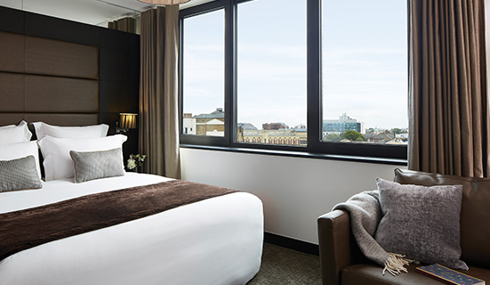 Double Deluxe Room with Sofa Bed at The Westbridge Hotel London