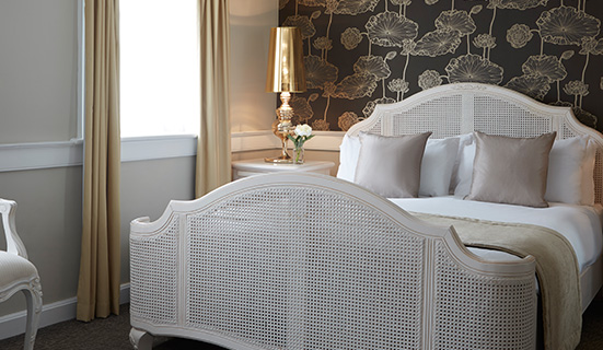 Queen Anne Junior Suite at The Westbridge Hotel Stratford London