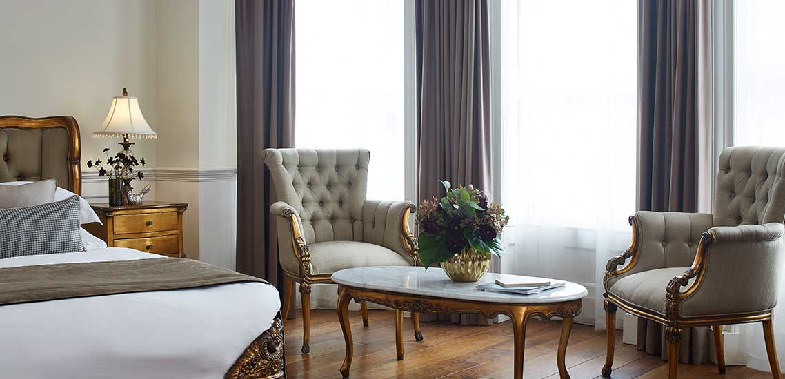 Versailles Junior Suite at The Westbridge Hotel Stratford London