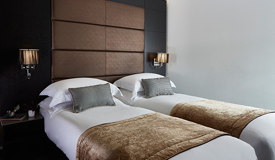 Standard Twin Rooms at The Westbridge Hotel London