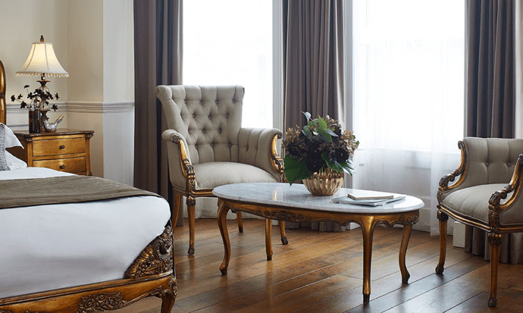 Versailles Junior Suite at The Westbridge Hotel London