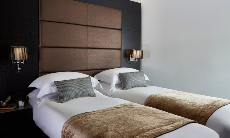 Standard Twin Room at The Westbridge Hotel London