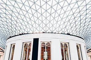 Image of The British Museum in London